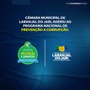 Câmara Municipal de Laranjal do Jari, aderiu ao Programa Nacional de Prevenção a Corrupção-PNPC